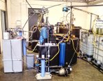 We manufacture up to 10,000 litres of purified water per day to fill up our vans.