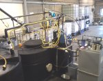 The purified water we make is demineralised and deionised using hi-tech commercial reverse osmosis machines.
